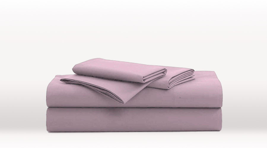 Violet King Single Size Classic egyptian cotton sheet Set