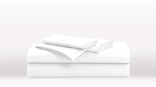 White Single Size Classic Sheet Set