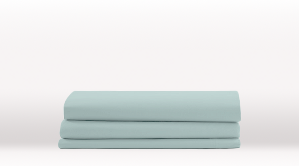 Aqua King Size Classic Fitted Sheet