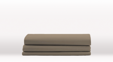 Grey Single Size Classic Flat Sheet