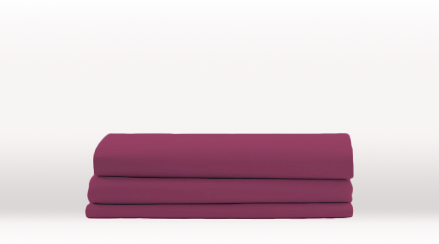 Purple King Size Classic Flat egyptian cotton sheet