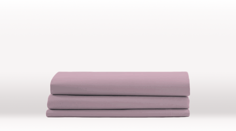 Violet Queen Size Classic Fitted egyptian cotton sheet