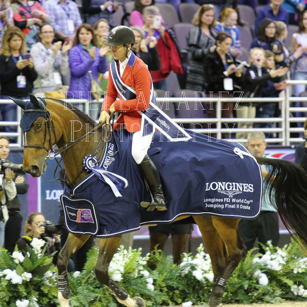 McLain Ward Wins the 2017 FEI Longines World Cup