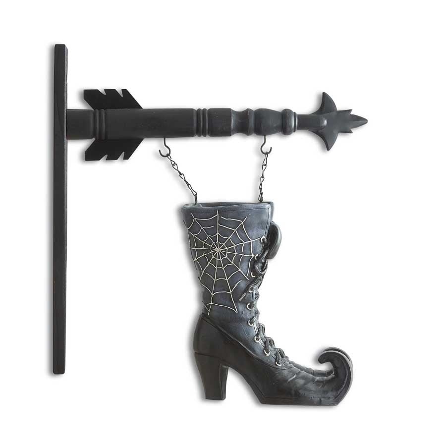 Resin Witches Boots Decoration for Arrow Hanger