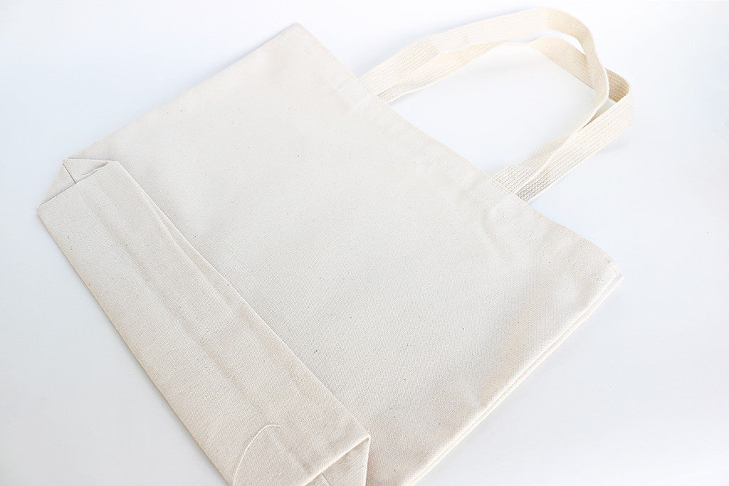 """Book Club"" Canvas Tote 2"