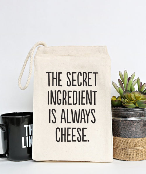 """Cheese"" Lunch Bag"