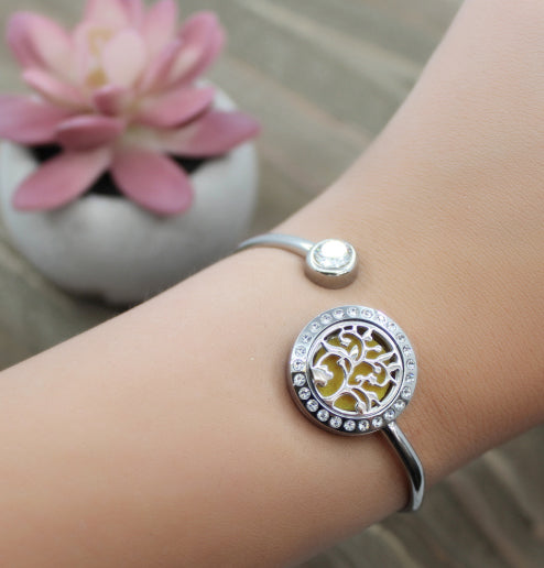 Essential Oil Bangle Bracelet