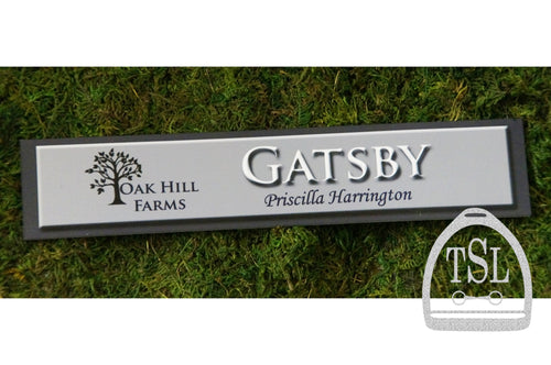 Custom Stall Sign- Complete Custom Design