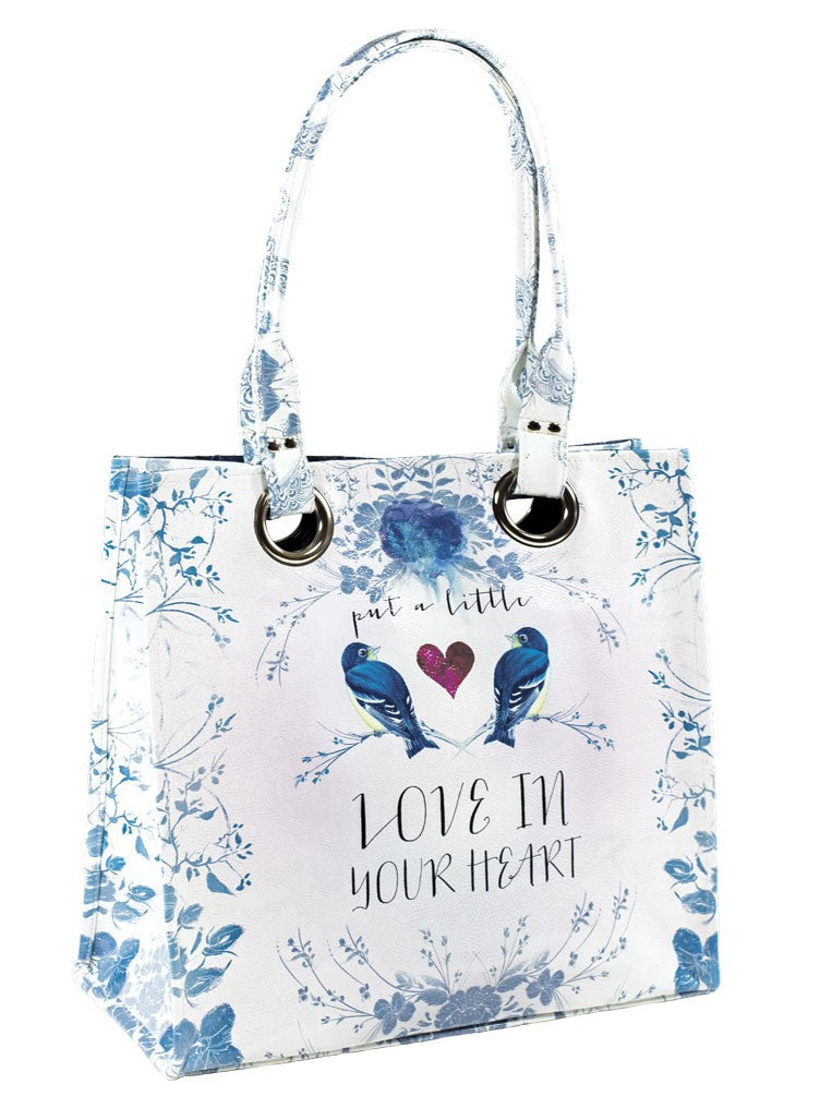 Love in Your Heart Luxe Tote