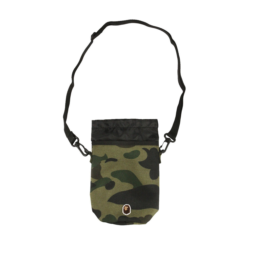 Bape Canteen Bag l green camo