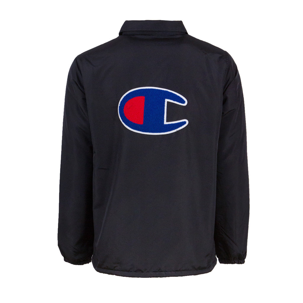 Bape Coach Jacket x Champion l black