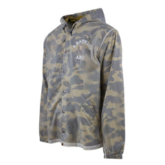 Bape College Translucent Jacket l yellow camo