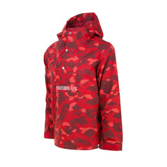 Bape Pullover Jacket l red camo