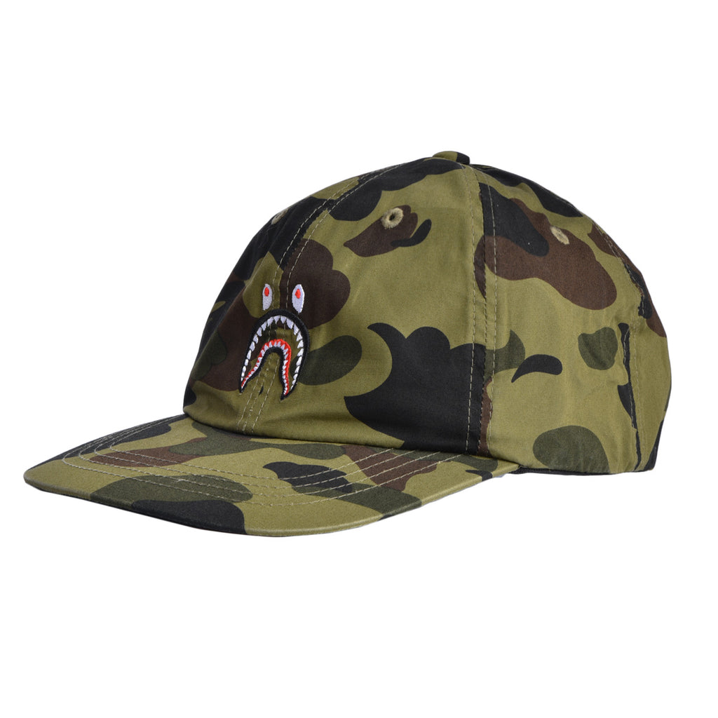 1st Camo Small Shark Dad Hat
