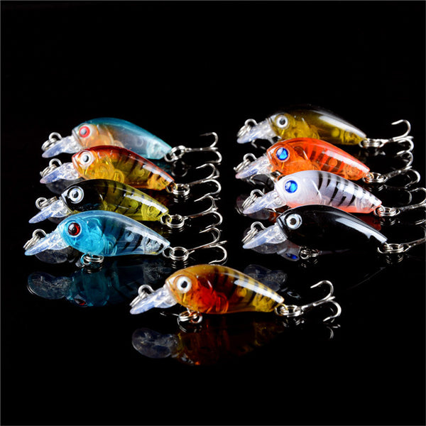 Fishing Lures Set Mixed 109 Pieces 12 Models Hard Baits Artificial Bass Crankbait Fishing Tackle - Survival Camping Pro