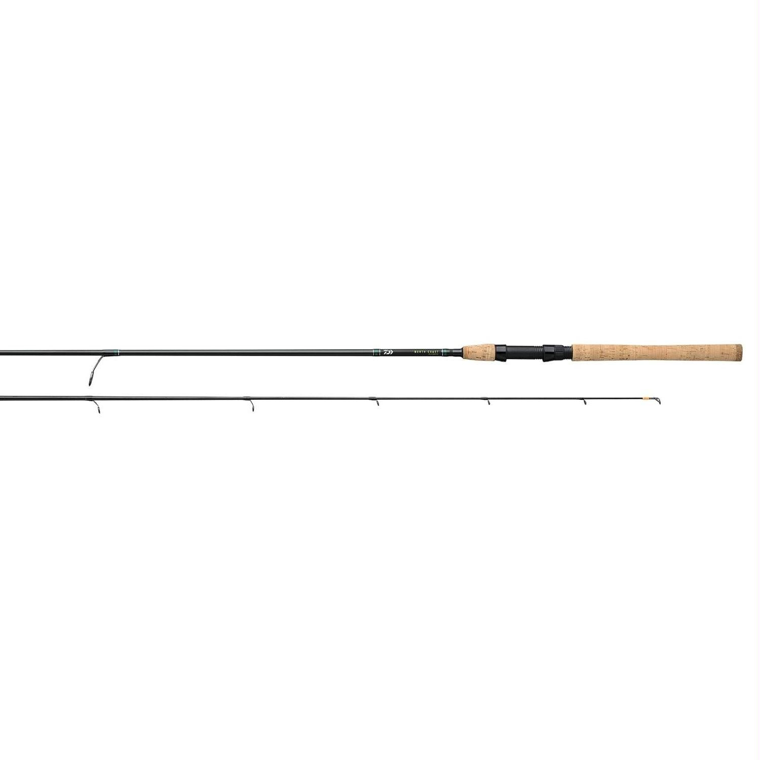 Daiwa North Coast SS Rod 2 Pieces Line Wt 8-17 NC902MHFS - Survival Camping Pro