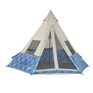 Wenzel Shenanigan 5 Person Tent - Blue - Survival Camping Pro