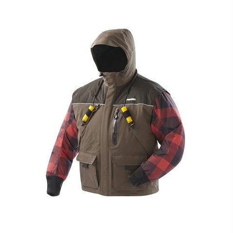 Frabill Jacket I3 Woodsman Brown 2XL - Survival Camping Pro