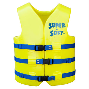 TRC Recreation Adult Super Soft USCG Vest, Medium - Yellow - Survival Camping Pro