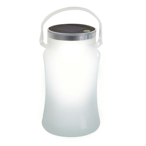 Stansport Solar LED Lantern Storage Bottle-White - Survival Camping Pro