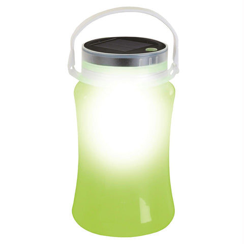 Stansport Solar LED Lantern Storage Bottle-Green - Survival Camping Pro