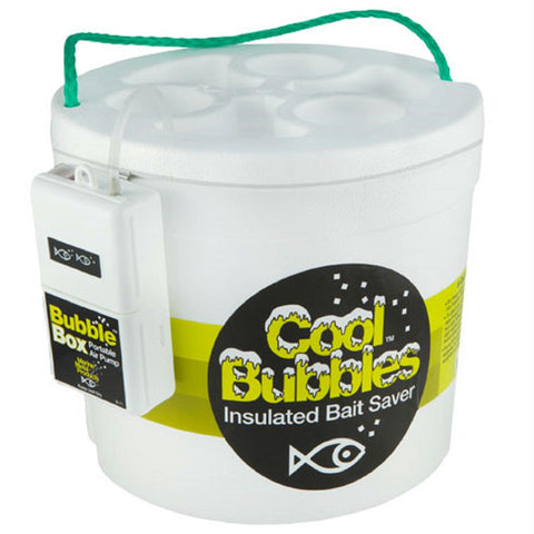 Marine Metal Cool Bubbles 8 Quart Foam Bucket and Pump Kit - Survival Camping Pro