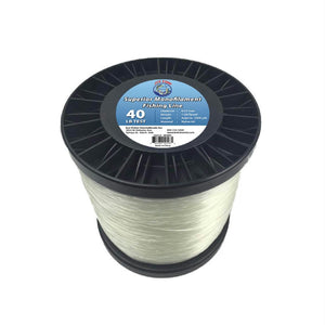 Joy Fish 5 Lb Spool Monofilament Fishing Line-40Lb Clear - Survival Camping Pro