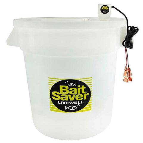 Marine Metal Individual 10 Gal Bait Saver Livewell - Survival Camping Pro