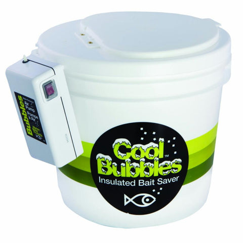 Cool Bubbles Air Pump          11Qt Insulated Pail - Survival Camping Pro