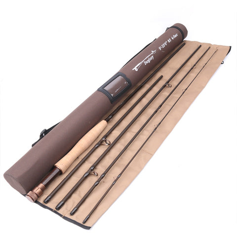 High Performance Fly Rod 5 Sections With Corduroy Tube Fly Fishing Rod - Survival Camping Pro