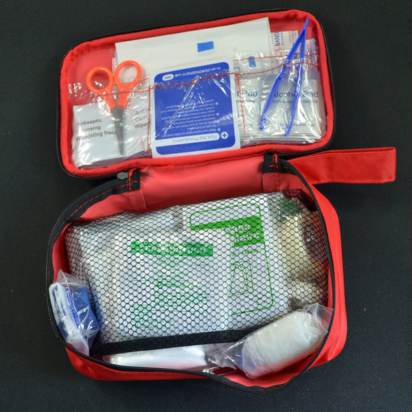 First Aid Kit Medical Emergency Kit Treatment Pack Set Outdoor Wilderness Survival - Survival Camping Pro