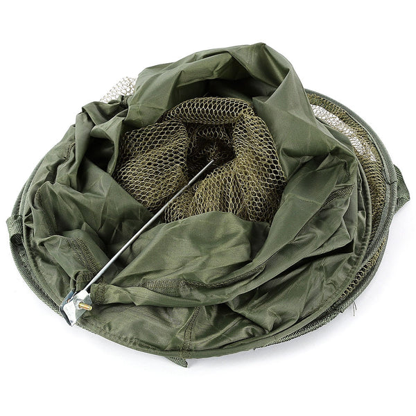 Durable 5 Layer Fishing Folding Care Creel Tackle Portable Stake Mesh Net - Survival Camping Pro