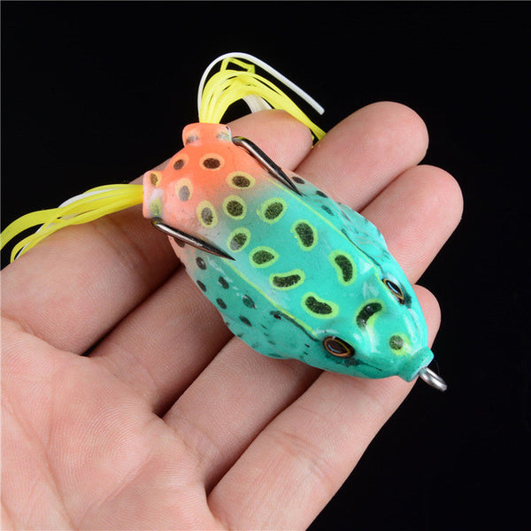 Fishing Lure Tackle 6 Color Minnow Crank Lures Mix Bait Frog Fishing Lures - Survival Camping Pro