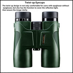Professional Binoculars HD 10x42 for Camping Zoom High Quality Vision - Survival Camping Pro