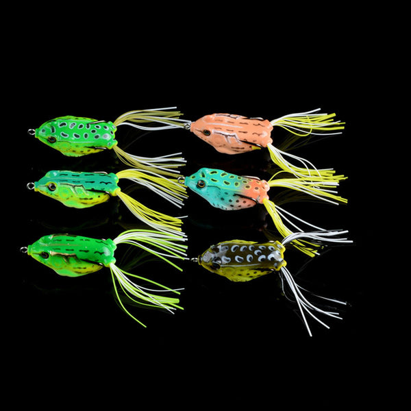 Fishing Lures 60 Piece Mixed 9 Model Hard Baits Minnow/Popper/Pencil/Lead Lure Soft Frog - Survival Camping Pro