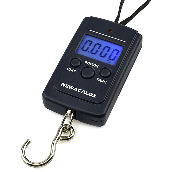 Mini Digital Scale For Weighing Fish Steelyard Hanging Electronic Hook Scale Fishing Scale - Survival Camping Pro
