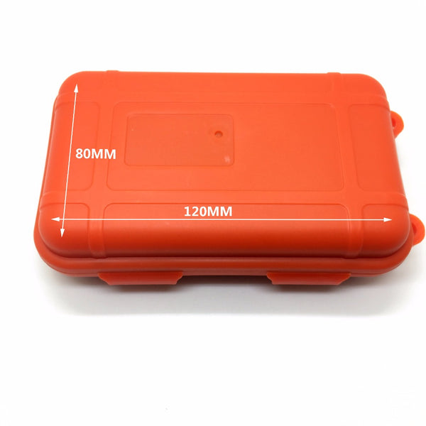 NEW Outdoor Emergency Equipment SOS Kit First Aid Box Supplies Field Self-help Box For Camping - Survival Camping Pro