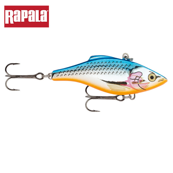 Rattlin' Rapala Fishing Lure Artificial Bait With VMC Black Nickel Hooks Long-Casting Sinking Lure - Survival Camping Pro