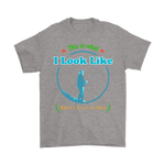 Men's Fishing T-Shirt This Is What I Look Like When I Call In Sick Funny Tee - Survival Camping Pro