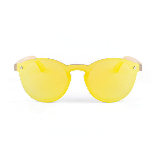 Rounded Lightwood - Yellow