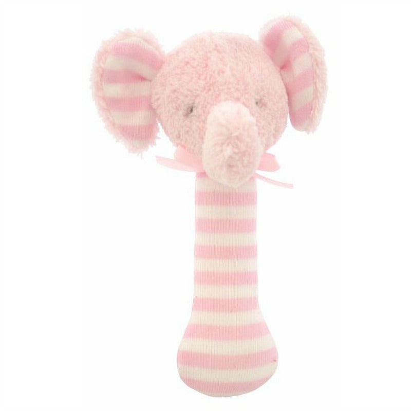 Alimrose Designs Elephant pink rattle for baby