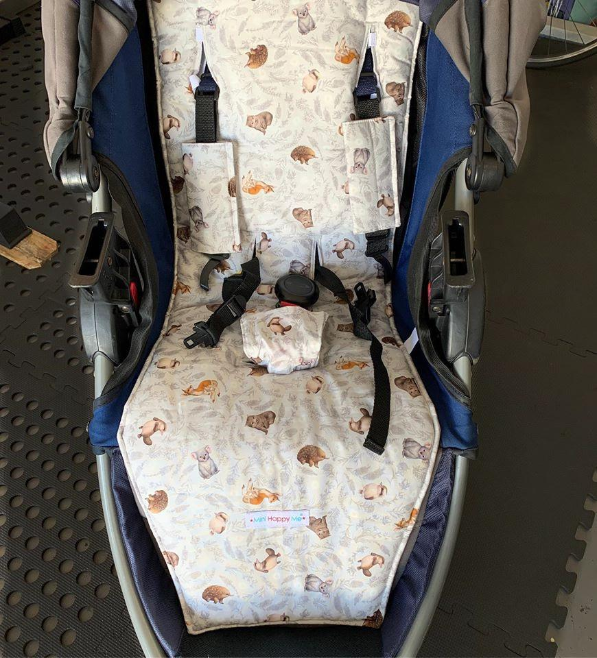 BOB Motion running pram - Reversible pram liner soft and comfy