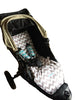 Custom Order Reversible pram liner - Baby Jogger City Elite all models