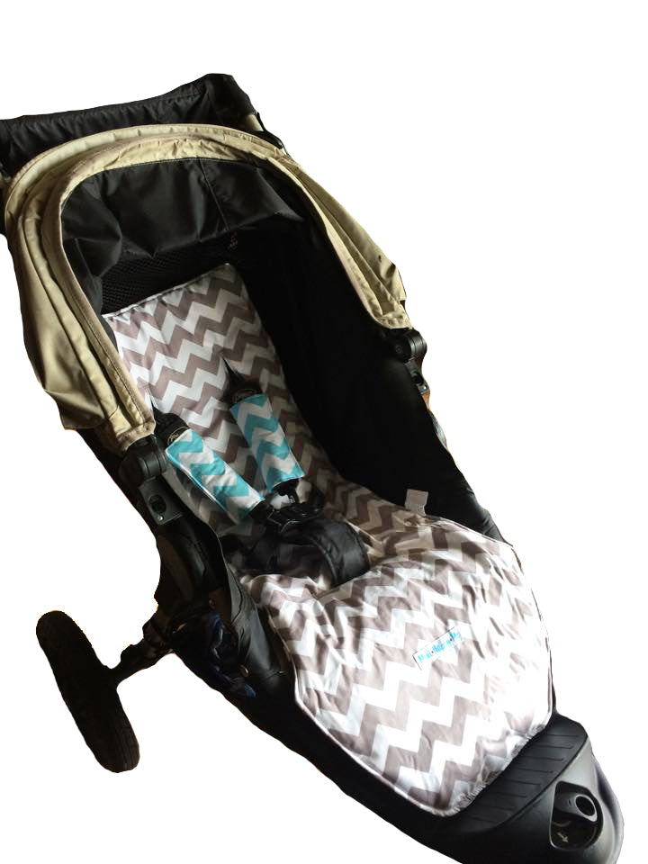 Custom Order Reversible pram liner - Baby Jogger City Elite 2013+