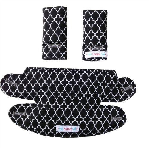 Ergo Adapt Reversible Teething Dribble bib + drool pads set Ready to ship