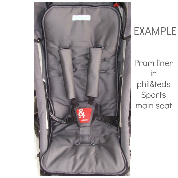 Custom Order Reversible pram liner - phil & teds Sports