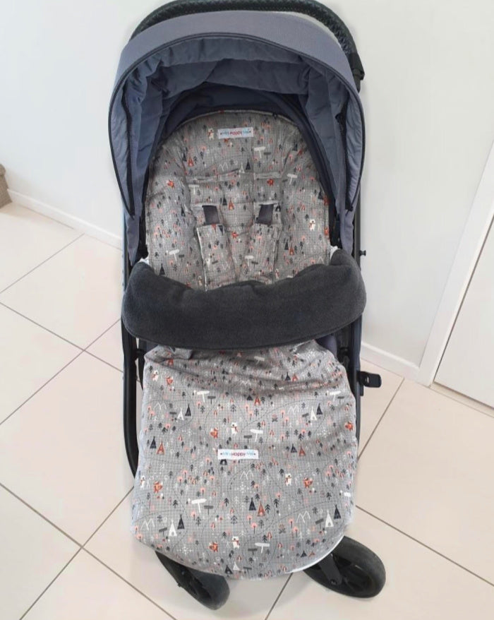 Redsbaby Metro 2 and Jive 2 pram liner and snugly footmuff cover combo - Custom Made
