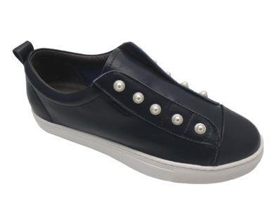 PEARL SHOE - NAVY BLUE