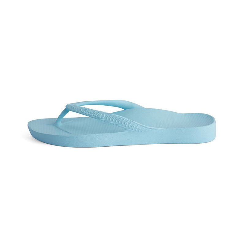 ARCH SUPPORT THONGS - SKY BLUE