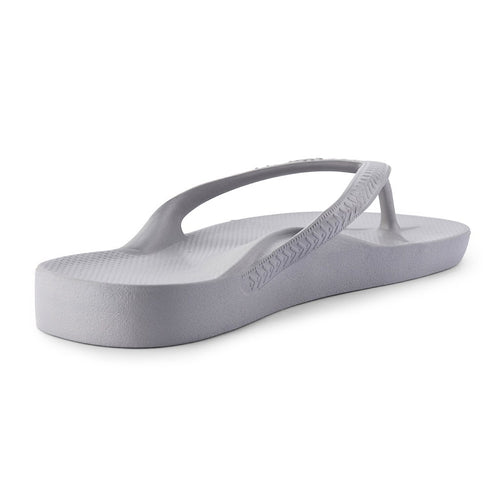 ARCH SUPPORT THONGS - GREY